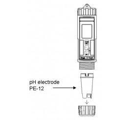 PE 12 - náhradná elektróda pre PH 222