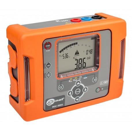 MIC-5001 - merač izolačných odporov