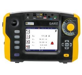 CA 6117 - multifunkčný revízny prístroj