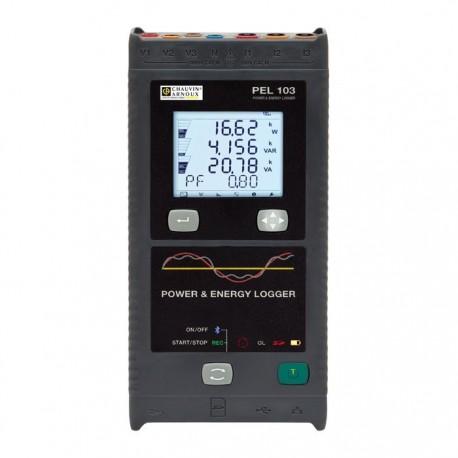 PEL 103 + MA193 + DataView + Adaptér napájania + Magnetické svorky- záznamník kvality elektrickej energie