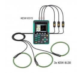 Kyoritsu KEW 6315 - analyzátor kvality siete