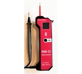 MINI 01 - merač prechodových odporov