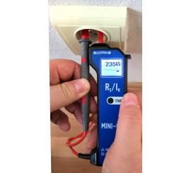 MINI 02 - merač impedancie slučky (Nová verzia)