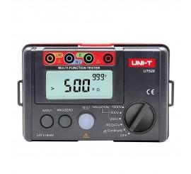 UT526 - tester prúdových chráničov, izolácie, prechodových odporov