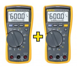 Fluke 117 EUR/TWIN - sada 2ks multimetrov