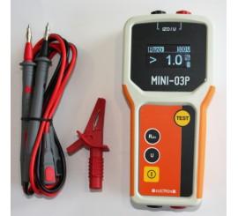 MINI 03P - merač izolačných a prechodových odporov