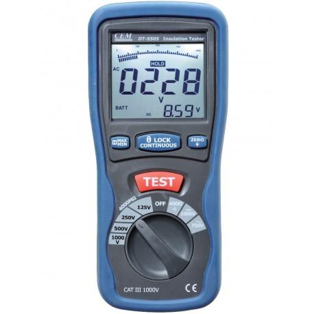 DT 5505 - merač izolačných odporov