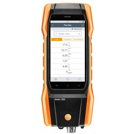 Testo 300 sada 1 - Analyzátor spalin (O2, CO až do 4,000 ppm)