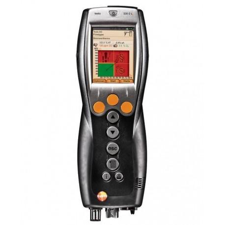 Testo 330-2 LL - profesionálny analyzátor spalín