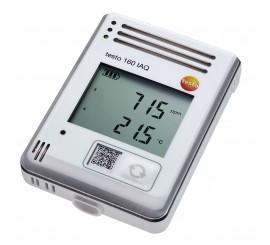 Testo 160 IAQ Wifi záznamník dát s integrovanými senzormi pre teplotu, vlhkosť, CO2 a atmosferický tlak
