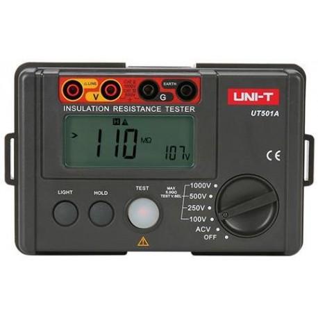 Tester izolačního odporu UNI-T UT501A