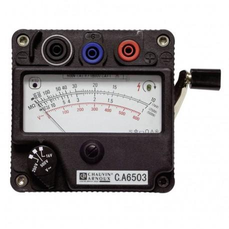 CA 6503 - merač izolačných odporov