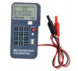 Prova 123 - kalibrátor prúdovej slučky a termočlánkov