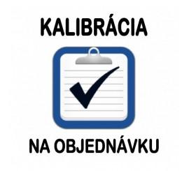 Kalibrácia WELDtest