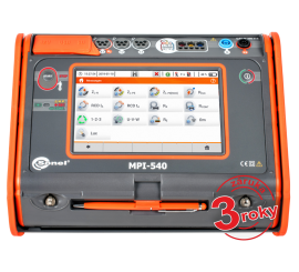 MPI-540 - multifunkčný revízny prístroj + analyzátor siete