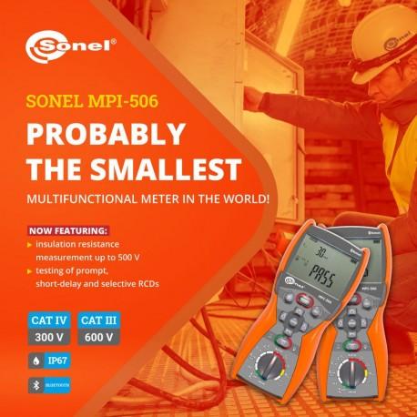 MPI-506 - multifunkčný revízny prístroj